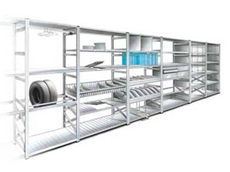 Boltless 123 Shelving System available from Storage Ideas