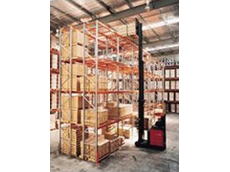 Colby heavy-duty selective and double-deep racking was installed at the facility