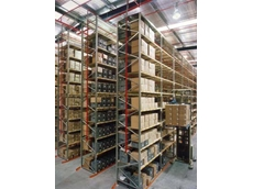 Storage Ideas customised a heavy duty racking design for Schenker International