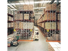 Colby double deep pallet racking available from Storage Ideas