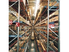 Colby narrow aisle pallet racking available from Storage Ideas