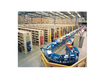 Choose from gravity roller conveyor, powered roller conveyor and belt conveyor
