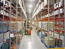 What is warehouse racking?