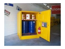 Store-Safe's dangerous goods store.