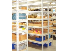 Slotted angle shelving from Stormor Shelving Australia