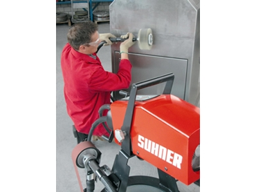 Reduce operator fatigue with polishing tools from Suhner