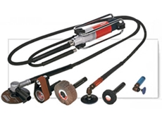 Flexible shaft grinders and polishers available from Suhner (Australia)