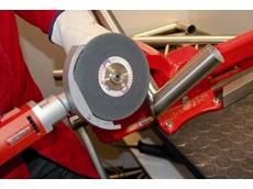 New Suhner Abrasive Expert Fillet Weld grinding and polishing system from Suhner (Australia)