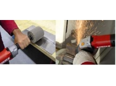 SUHNER Abrasive offers new series of electric straight and angle grinders