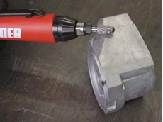 Suhner's compact grinders are the perfect solution for work virtually free of vibrations