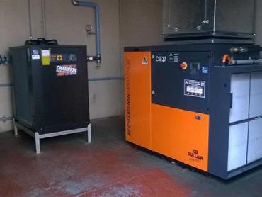 Case Study: Food manufacturer installs Champion air compressors