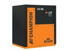 Champion Air Compressors Save Power and Maintenance Costs