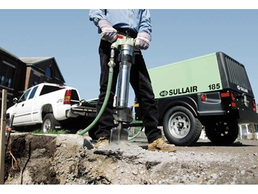 Sullair has an extensive range of heavy duty attachments like rock drills and breakers