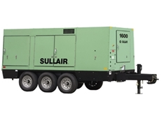 Portable Air Compressor  - Sullair 1600