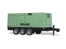 Portable Air Compressor  - Sullair 225H