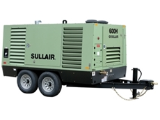 Portable Air Compressor  - Sullair 600H