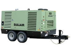 Portable Air Compressor  - Sullair 825