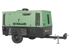 Sullair presents new improved series of portable diesel compressors for mining and construction industries
