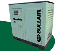Sullair's new ShopTek compressors are space saving, energy efficient and quiet