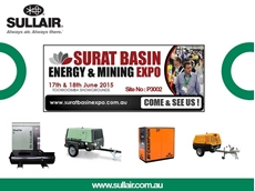 Sullair Australia will be showcasing their ShopTek and portable compressor range at the upcoming Surat Basin Energy & Mining Expo