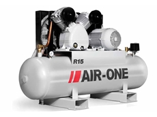The AirOne compressors are designed with energy savings in mind, and are pressure-switch controlled to ensure efficient operation at all times