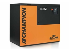 Superlative selection of compressors from Sullair at NMW