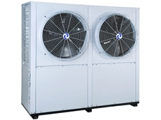 HVAC CHILLER-SAD-SS is designed with a side air discharge and a twin circuit for sequential starting