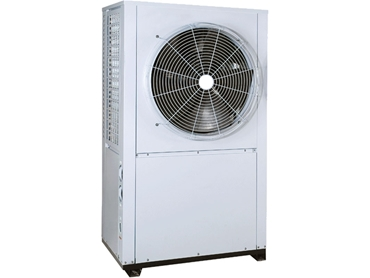 HVAC CHILLER-SAD-DS is designed with a side air discharge and a single circuit for direct starting