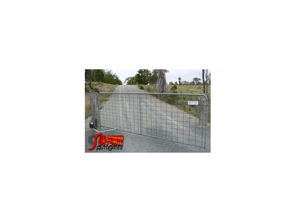 Automatic gate openers from sun power auto gates