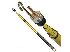 Super Rod telescopic poles assist in installing cables at heights