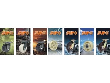 Industrial Wheels; Heavy duty Wheels; Double Ball Bearings; Single Ball Bearing
