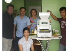 Sushi Machine supplies two sushi machines to Philippines sushi business
