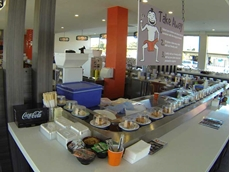 Australia's longest sushi conveyor system installed by Sushi Machines Australia