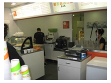 Sushi Machines supplies Juice Bar with ASM 860 Maki Robots and Rice Mixers