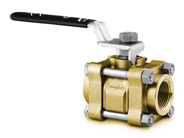 Brass 3-Piece 60 Series Ball Valve