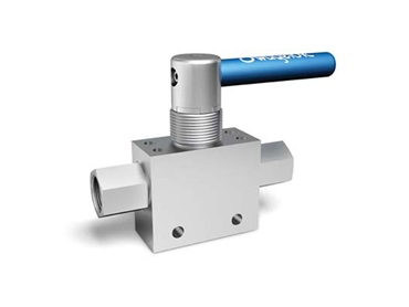 SS 3-Piece 2-Way Medium-Pressure Ball Valve