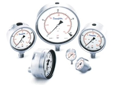 Ultra-high purity pressure gauges