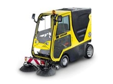 Karcher's new vacuum sweeper.