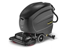 Karcher BD 65/80W walk behind floor scrubbers are ideal for cleaning hard floor surfaces
