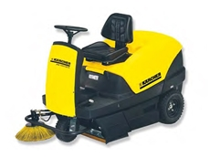 Ride On Sweepers  - Karcher KM 100/100 R LPG Ride On Vacuum Sweeper