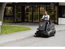 Ride On Sweepers  - Karcher KM 90/60 R Ride On Battery Vacuum Sweeper
