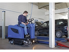 Ride On Sweepers  - Nilkfisk/Alto Floortec R 670 Ride On Vacuum Sweeper