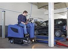 Ride On Sweepers  - Nilkfisk/Alto Floortec R 670 Ride On Vacuum Sweeper