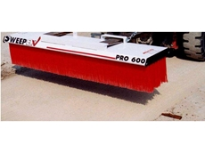 Sweep up to 30 times faster with industrial brooms from SweepEx Australia