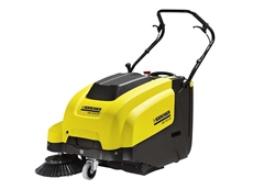 Walk Behind Sweepers  - Karcher KM 75/40 Petrol Powered Walk Behind Sweeper