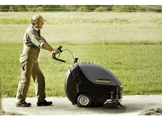 Walk Behind Sweepers  - Karcher KM 85/50 Petrol Powered Walk Behind Sweeper