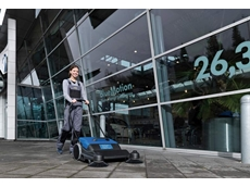Walk Behind Sweepers  - Nilfisk/Alto Floortec 480 M Manual Push Sweeper
