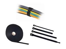 Icotek cable ties with hook and loop fastener