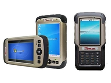 "Winmate 3.7"" and 5.7"" handheld devices from Switches Plus Components"