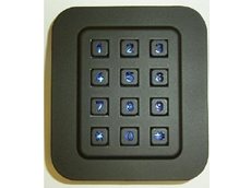 Vandal proof keypad